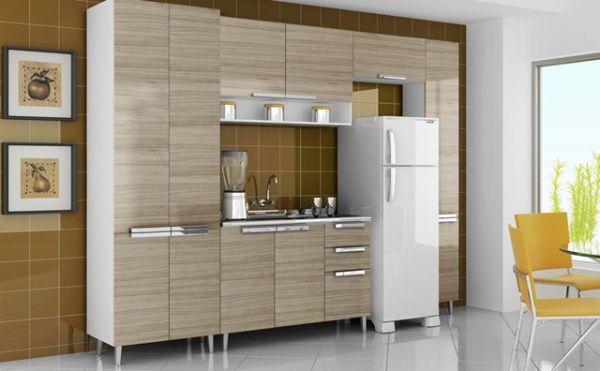 Cozinha Suprema Itatiaia  Soares Móveis # Armario De Cozinha Magazine Luiza